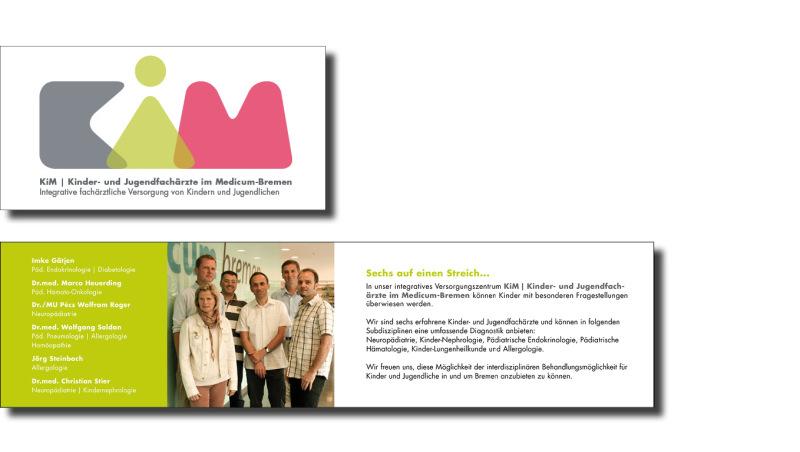 Einladungskarte Kinder- und Jugendfacharztpraxis Medicum-Bremen