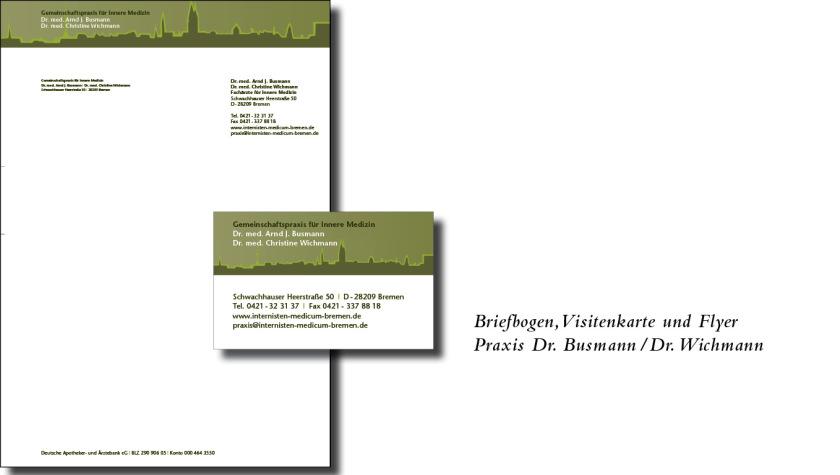Briefbogen, Vistenkarte