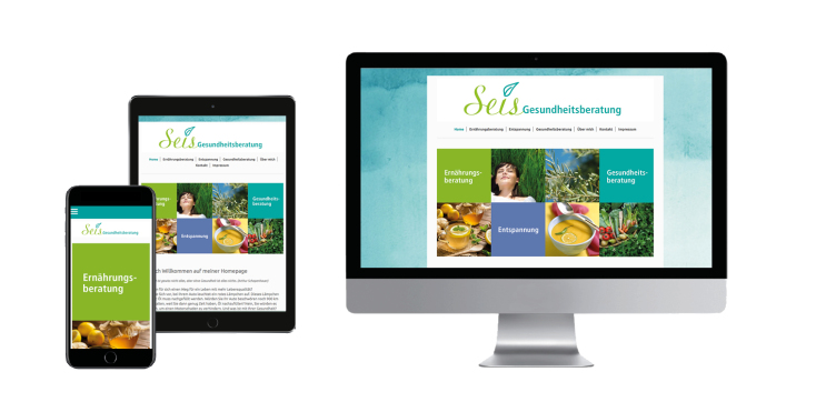 Website Dr. Olaf Topp, Websiteentwurf