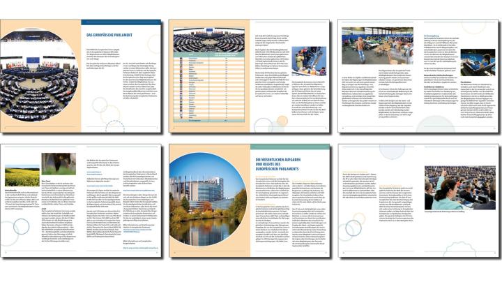 Broschüre Europäisches Parlament